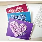 Floral Heart Shape Card