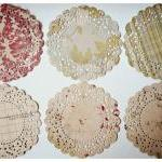 6 Parisian Lace Doily Kraft..