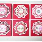 MIni 3 x 3 Doily Christmas ..
