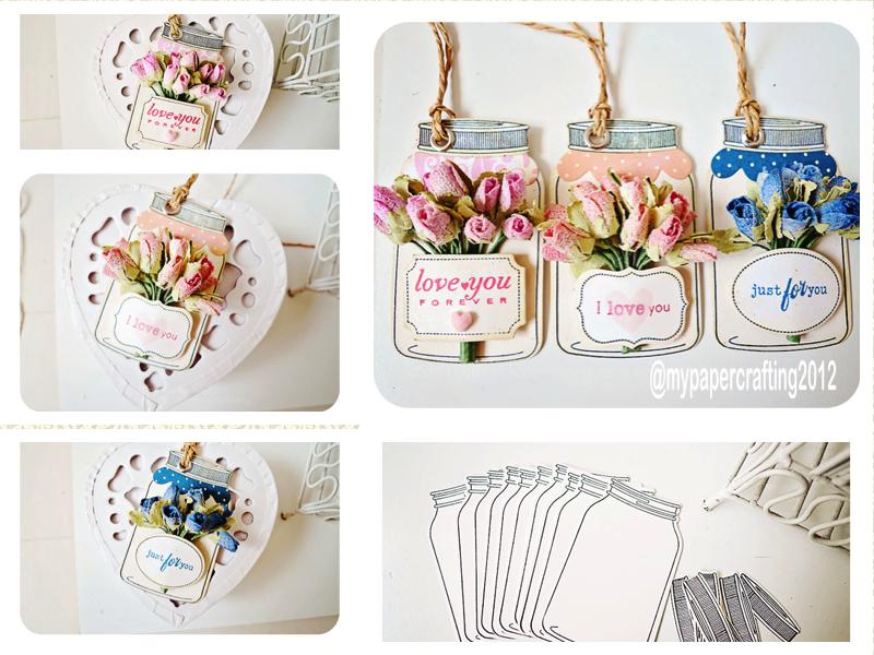 Jar tags cardstock