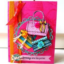 Birthday are like purses card