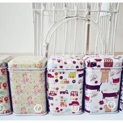 MIni cute box tin/ stationery box