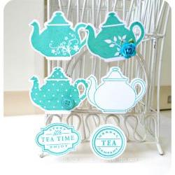 Teapot Embellishment for Scrap booking / card making etc  