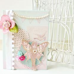 Fairy Angel handmade card  